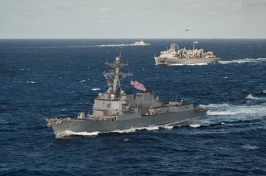 Blunt Words on China from U.S. Navy