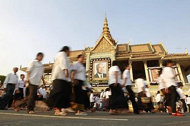 Cambodian King Sihanouk's Final Journey