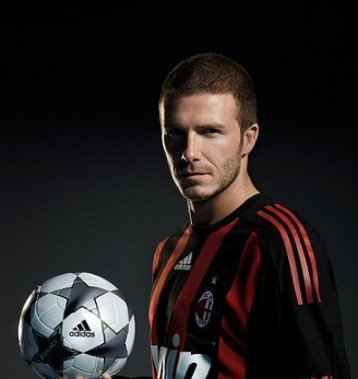 David Beckham in China as Football Ambassador