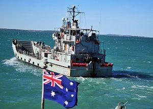 Australia's First Naval Battle