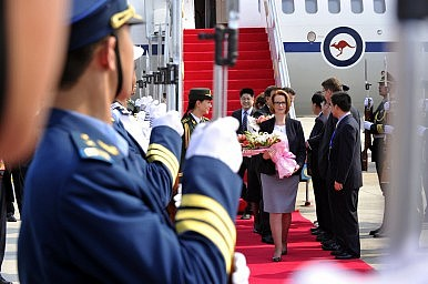 Julia Gillard's China Play