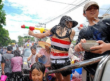Songkran: Making a Splash on Thai New Year