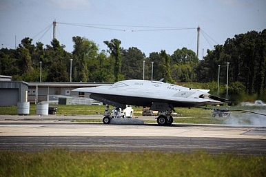 A Big Day for the X-47B