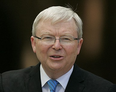 Rudd: China Boom Over