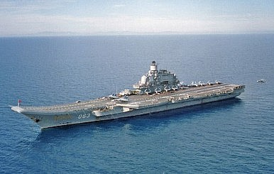 Russia's Only Aircraft Carrier Syria Bound?