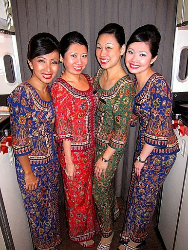Asian Airlines Have Best Flight Attendants