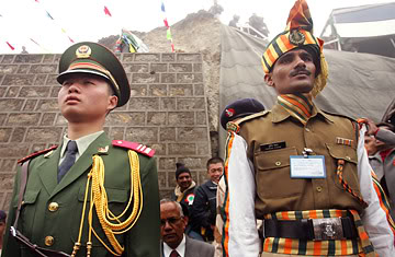 Riding Horses and Ponies, 50 PLA Troops March Into India