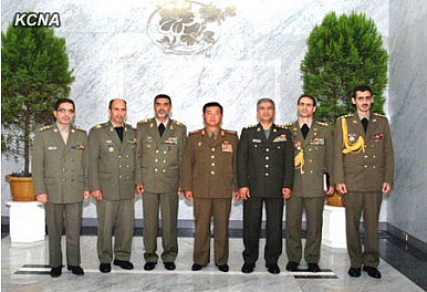 Is Iran's Military Visiting Pyongyang Right Now?