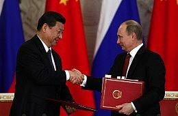 As Tensions with West Rise, Moscow Looks to Asia