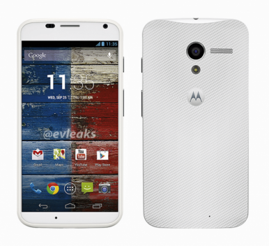 Motorola Moto X: Press Images and Camera UI Leak