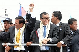 Sam Rainsy Return Raises the Stakes in Cambodian Election