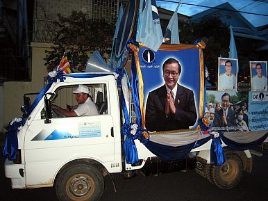 Cambodian Showdown Looms after Sam Rainsy Pardon