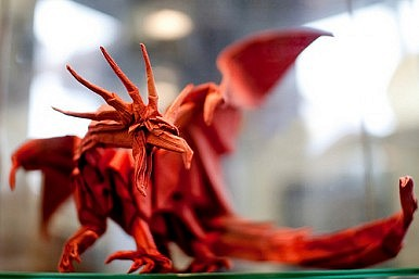 Pulp Art: Origami Unfolds in the West