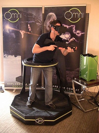 Virtuix Omni: An Omnidirectional Treadmill for VR Gaming