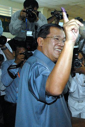Hun Sen Wins Close, Flawed Cambodian Election