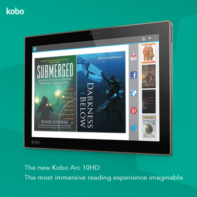 Kobo: Three New Tablets and an eReader Arriving October 16