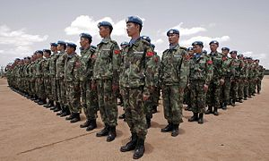 China Embraces Peacekeeping Missions