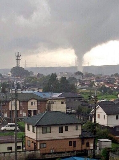 Japan Battered by Tornadoes and a Typhoon