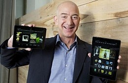 Amazon Unveils $139 Kindle Fire HD, Premium Kindle Fire HDX Tablets