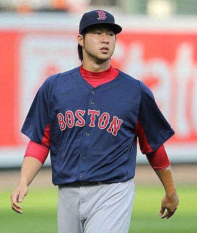 Asian Baseball Player