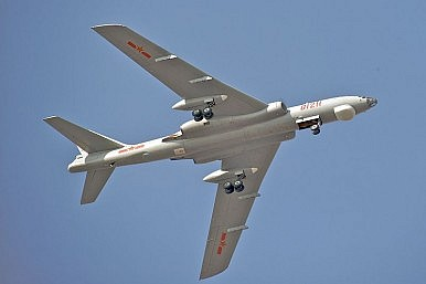 China Flies Bombers and Drone Near Japanese Skies