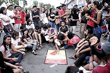 Why Rallies Are Not Really Rallies in Manila and Phnom Penh