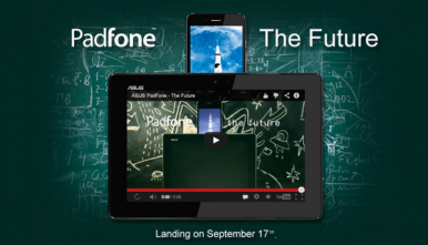 New Asus PadFone Infinity: Smartphone-Tablet Hybrid