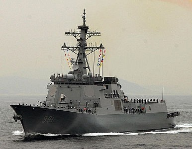 South Korea Navy Wants 3 More Aegis Destroyers