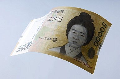 South Korea's Currency Shows Strength