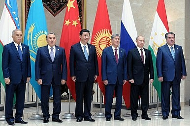 With Russia in Middle East, China Claims Central Asia