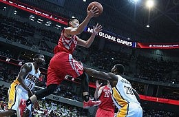 American Basketball Scores Big with Asian Fans