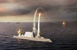 Capt. Kirk Takes Command Of The <em>USS  Zumwalt</em>