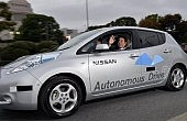 "Japanese Prime Minister ""Test Drives"" Autonomous Vehicles"