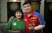 Mongolians Aim for the Bull's-Eye in International Darts Scene