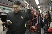 Kim Jong-Un Impersonator Delights Hong Kong, the Internet