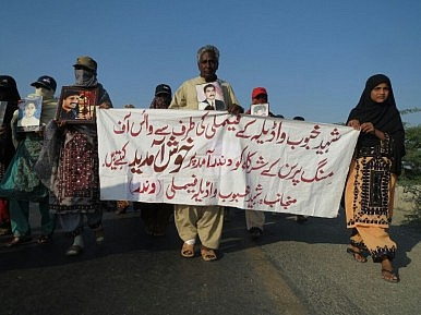 Pakistan Long March Ignored by Media