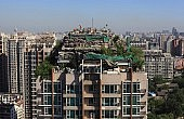 China's Housing Crunch Takes to the Rooftops