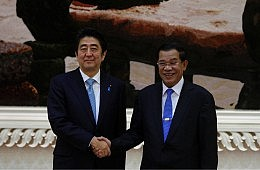 Japanese Maintain Soft Approach Vying for Indochinese Influence