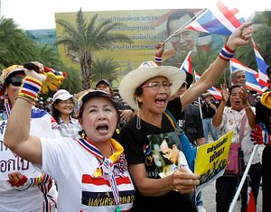 Thailand: Protestors Whistling Their Way to Democracy