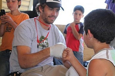 Paul Walker's Charity, ROWW, Was Among Haiyan First Responders