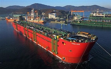 """Samsung Heavy Industries Floats the World's Largest """"Ship"""""""