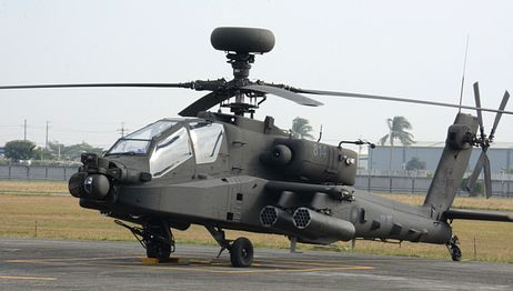 Taiwan Showcases AH-64E Apache Guardian Helicopters