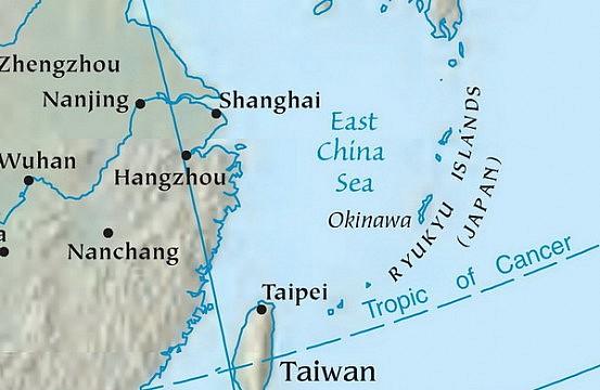 Где находится китайское море