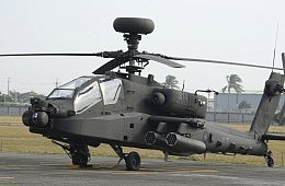 Taiwan Showcases AH-64E Apache Guardian Helicopters