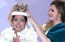 Newly Crowned Miss International Pledges to Support Typhoon Victims