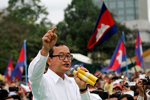 Cambodia: An Interview with Opposition Leader Sam Rainsy