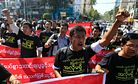 Myanmar Stumbles on Press Freedom