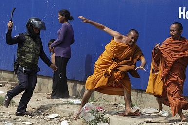 Cambodian Democracy Takes a Big Blow
