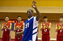 Rodman Dunks for Kim, Gets Slammed by Bae Family