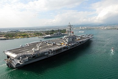 Does the US Navy have 10 or 19 Aircraft Carriers?